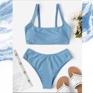 Light blue bikini set